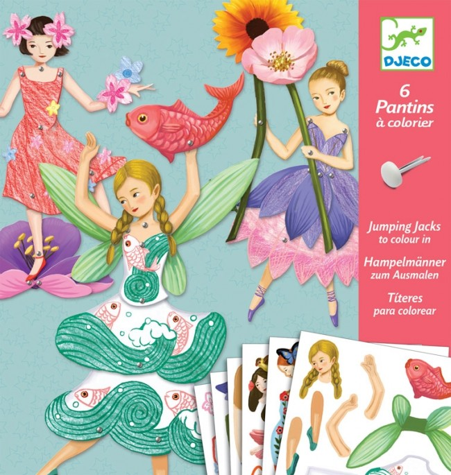 Djeco Paper Puppet Fairies - STEAM Kids