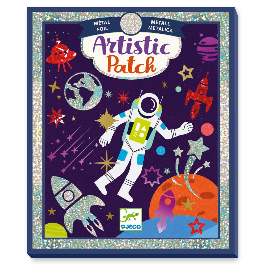 Djeco Artistic Patch Foil Cosmos - STEAM Kids Brisbane