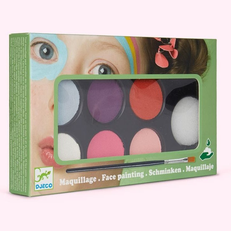 Djeco Face Painting - Sweet Palette - STEAM Kids Brisbane