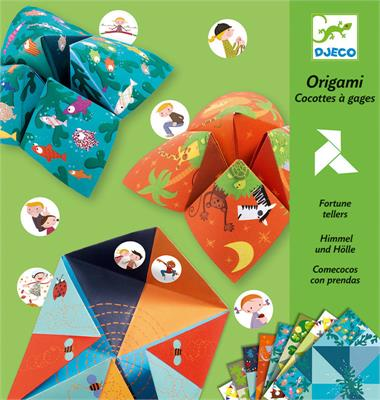 Djeco Origami Fortune Tellers - STEAM Kids Brisbane
