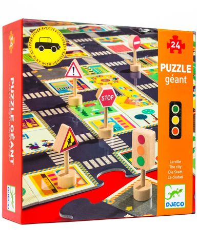 Djeco Pop to Play The City Puzzle - STEAM Kids Brisbane
