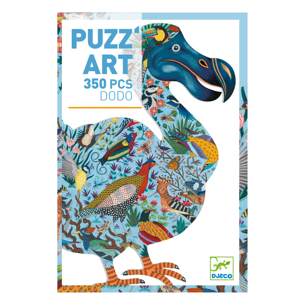 Dodo Puzz Art Jigsaw Puzzle by Djeco | 350pc Jigsaw Puzzle| - STEAM Kids Brisbane