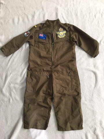 Gollygo Australian Flight Suit Pilot Dress Up Costume Medium (3-5yo) - STEAM Kids Brisbane