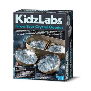 KidzLabs Grow Your Own Crystal Geodes Kit - STEAM Kids