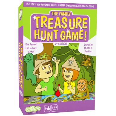 Gotrovo Family Treasure Hunt Game - STEAM Kids Brisbane