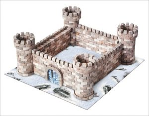 Wise Elk Mini Brick Eagles Nest Castle - STEAM Kids