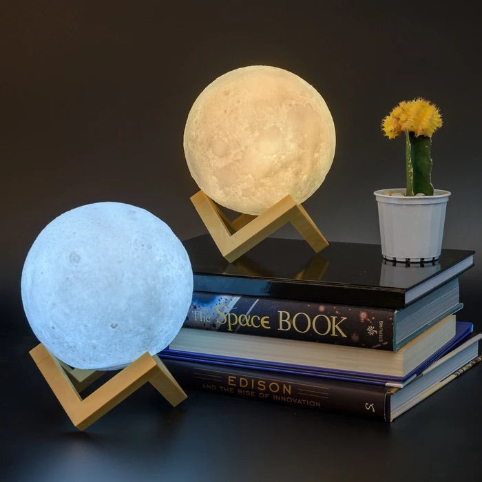 Lunar Night Light | Moon | Heebie Jeebie - STEAM Kids Brisbane