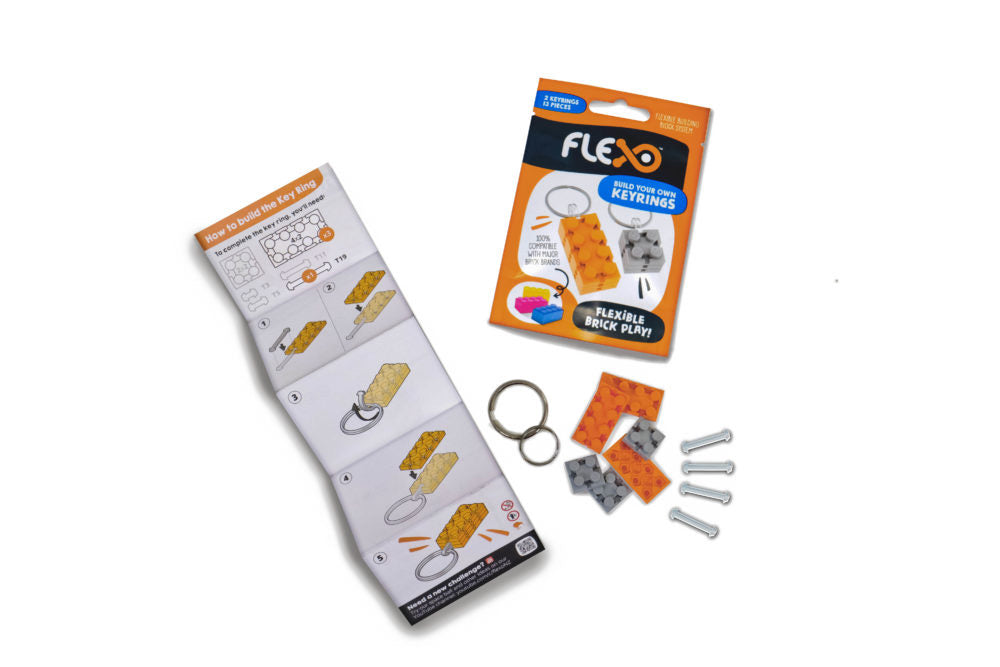 Flexo - Build your own Keyrings - STEAM Kids