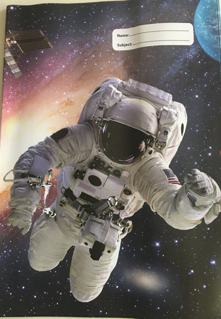 Spencil A4 Bookcover | Astronaut | - STEAM Kids Brisbane