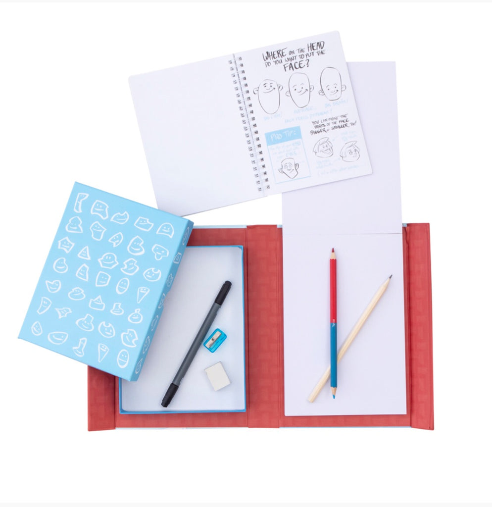 Tiger Tribe Drawing People Kit - STEAM Kids