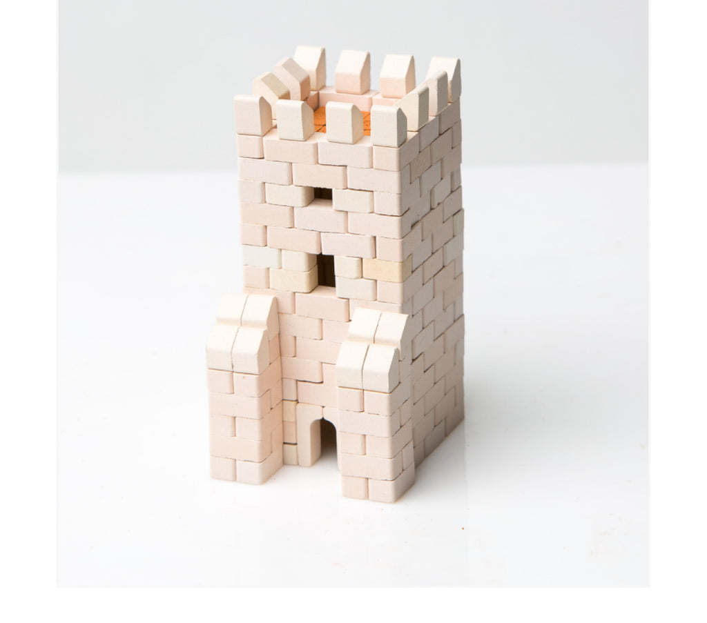 Wise Elk Mini Bricks Gate Tower - STEAM Kids Brisbane