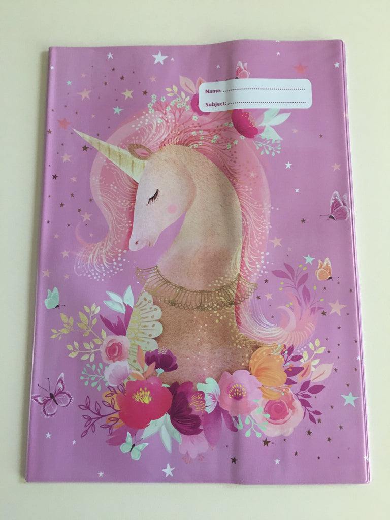 Spencil A4 Book Cover - Magic Unicorn - STEAM Kids Brisbane