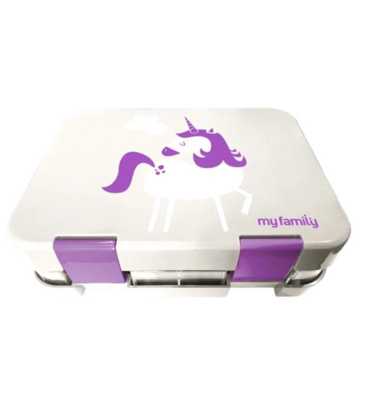 My Family Easy Clean Bento Unicorn - STEAM Kids Brisbane