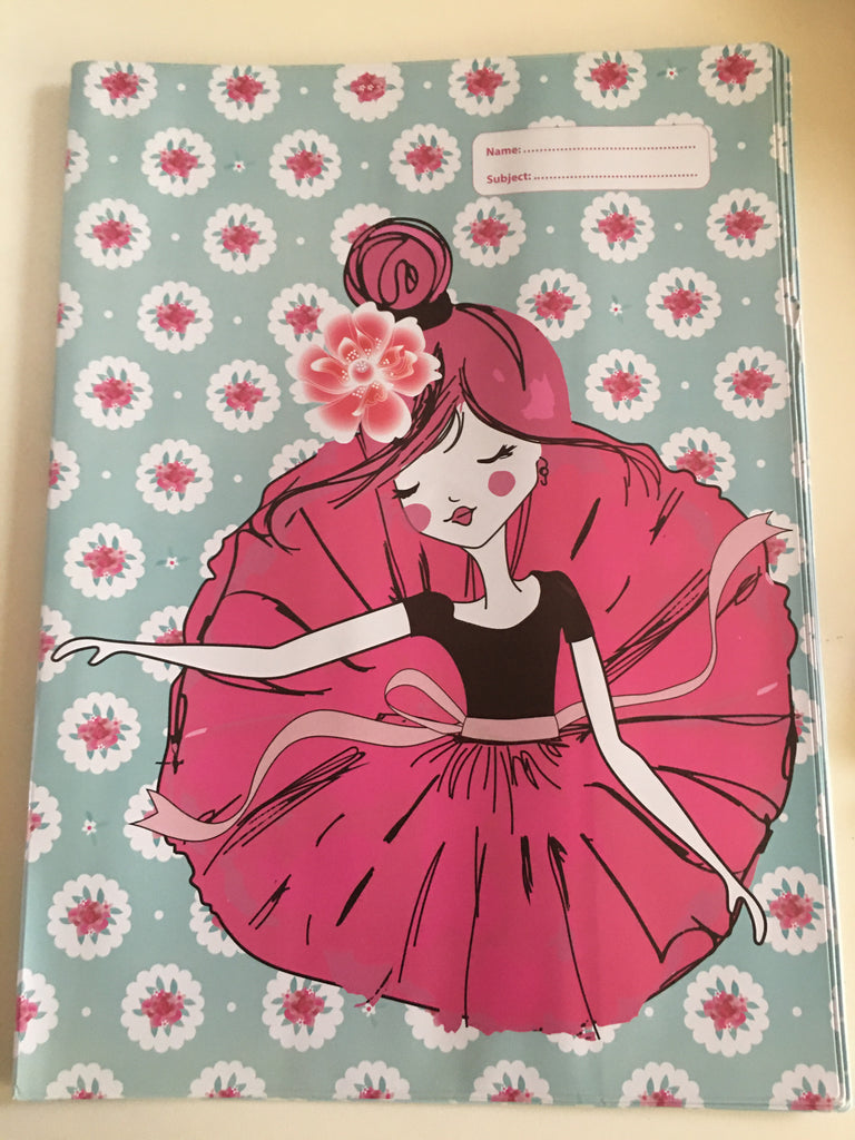 Spencil Scrapbook Book Cover -  Ballerina - STEAM Kids Brisbane