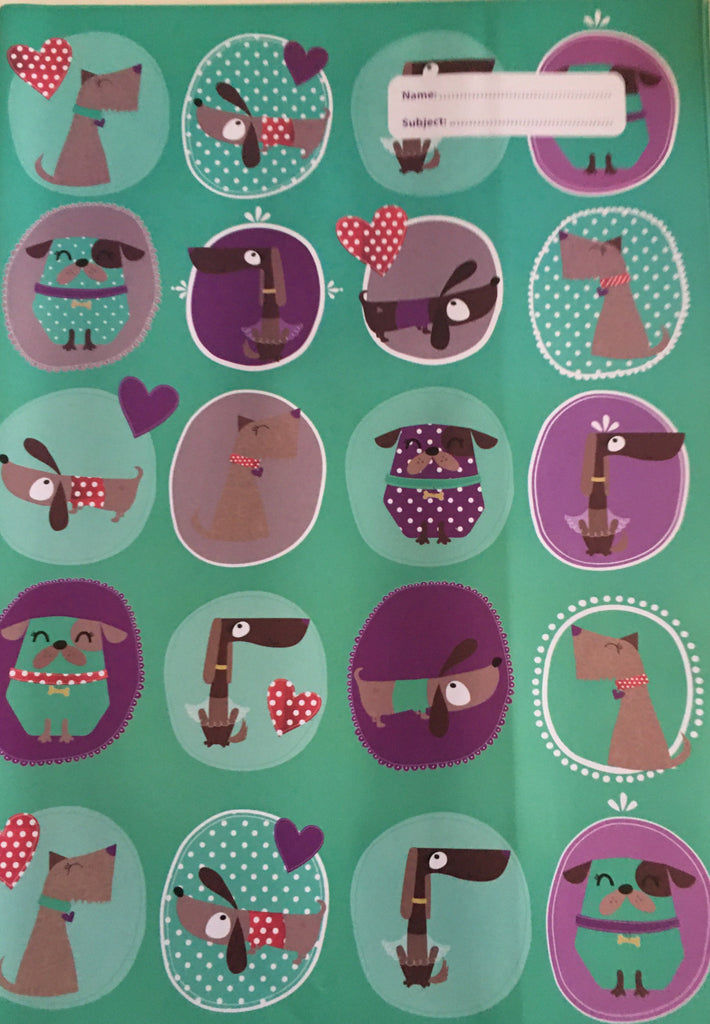 Spencil Scrapbook Book Cover -  Spotty Dog - STEAM Kids Brisbane