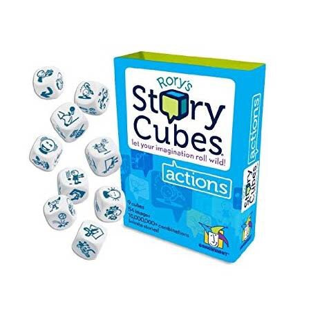 Rory's Story Cubes Actions - STEAM Kids Brisbane
