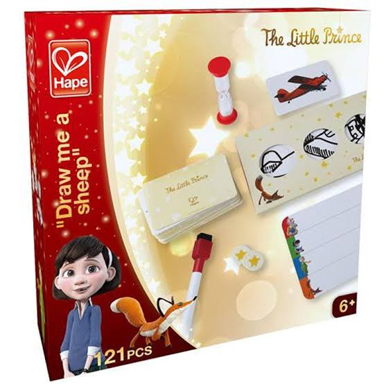 "The Little Prince""Draw me a Sheep"" Game Card Game - STEAM Kids Brisbane"