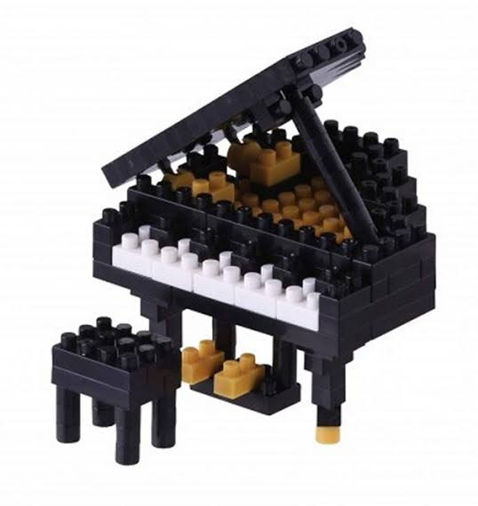 Grand Piano Nanoblock NBC_146 - STEAM Kids Brisbane