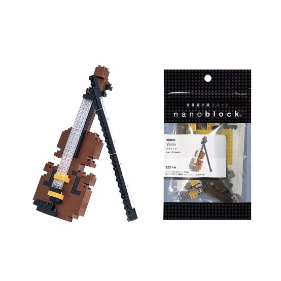 Violin Nanoblock NBC_018 - STEAM Kids Brisbane