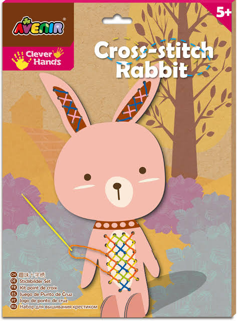Avenir Cross Stitch Rabbit - STEAM Kids Brisbane