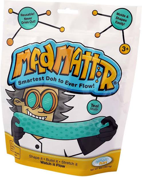 MAD MATTR - 10OZ / 283G Teal - STEAM Kids Brisbane