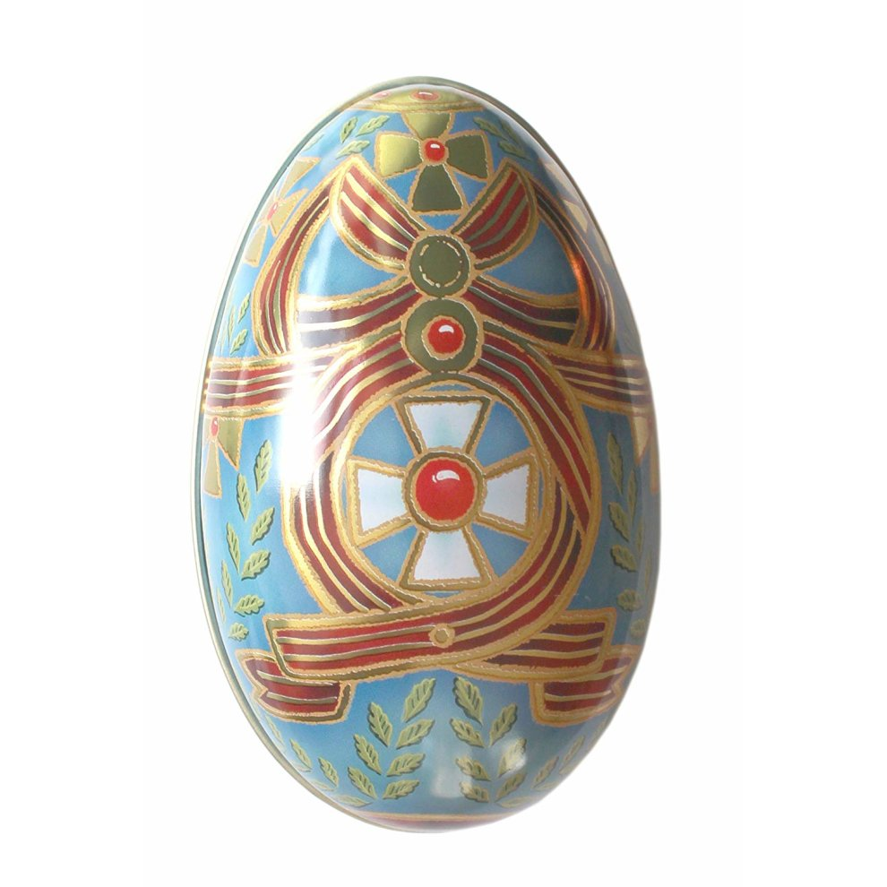 Russain Faberge Style Egg Tin - STEAM Kids