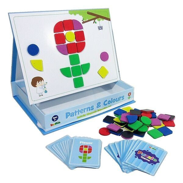 Inakids Magnetic Games Patterns & Colors - STEAM Kids Brisbane