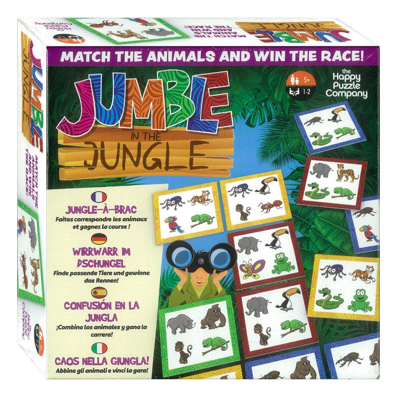 Jumble in the Jungle Game - STEAM Kids Brisbane