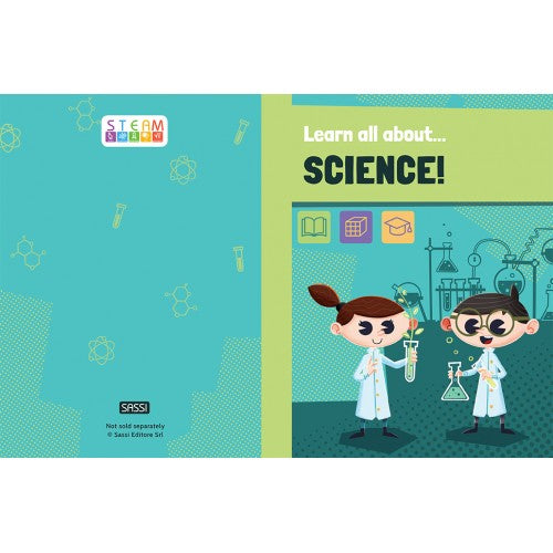 Learn all about... Science! 32 page book and model - STEAM Kids Brisbane