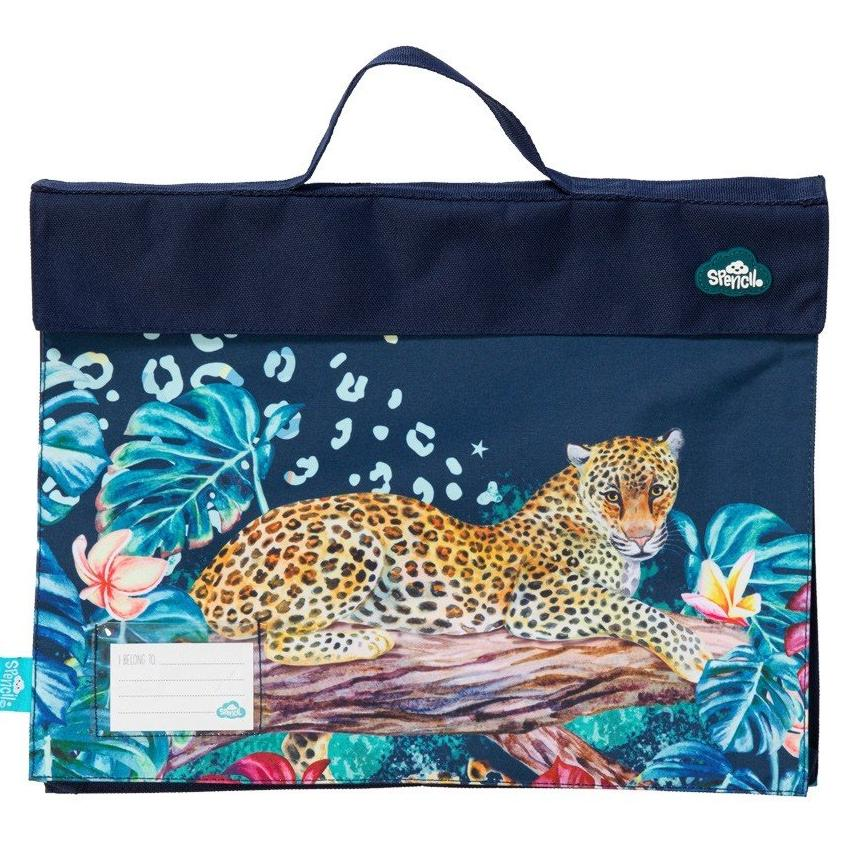 Spencil Library Bag -| Leopard Queen | - STEAM Kids Brisbane
