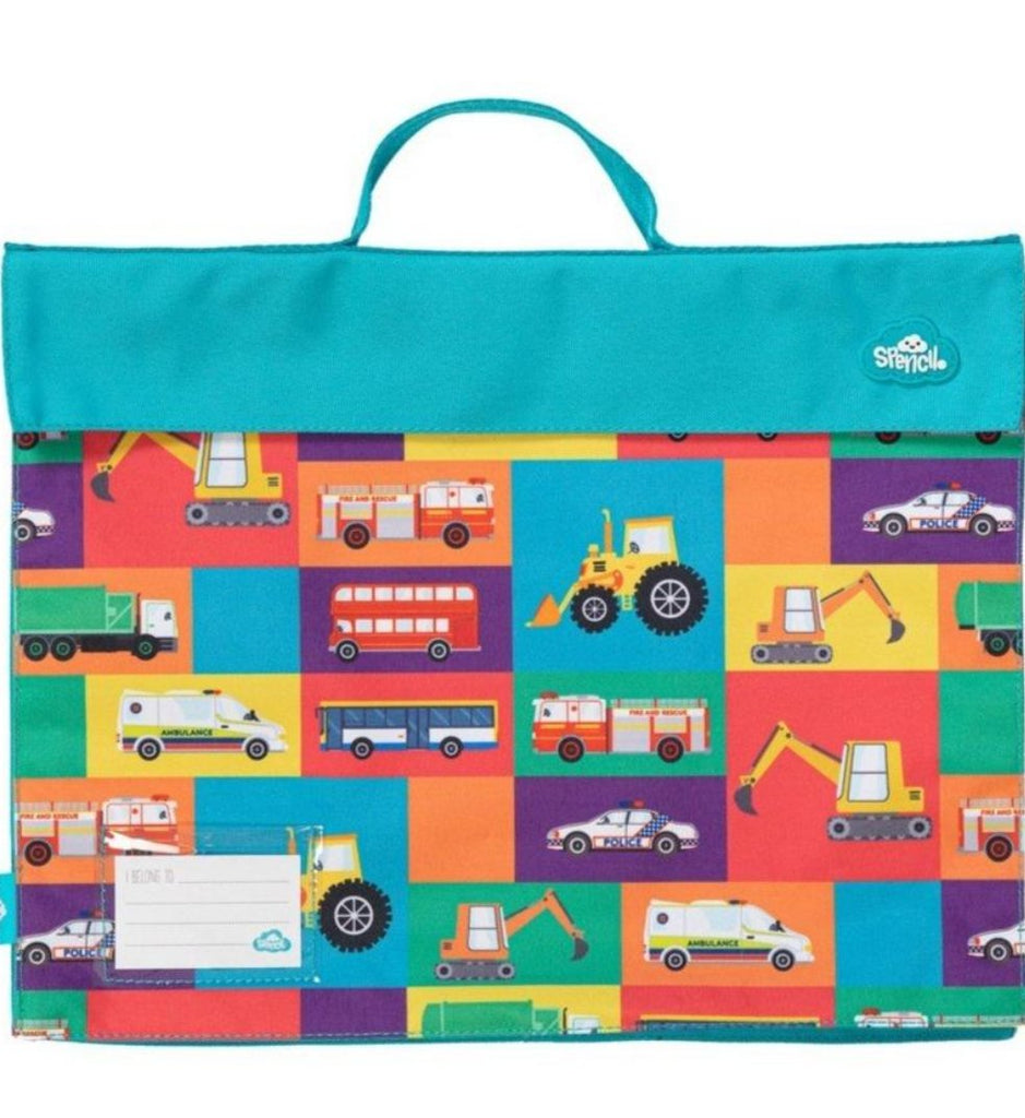 Spencil Library Bag | Transport Town | - STEAM Kids Brisbane