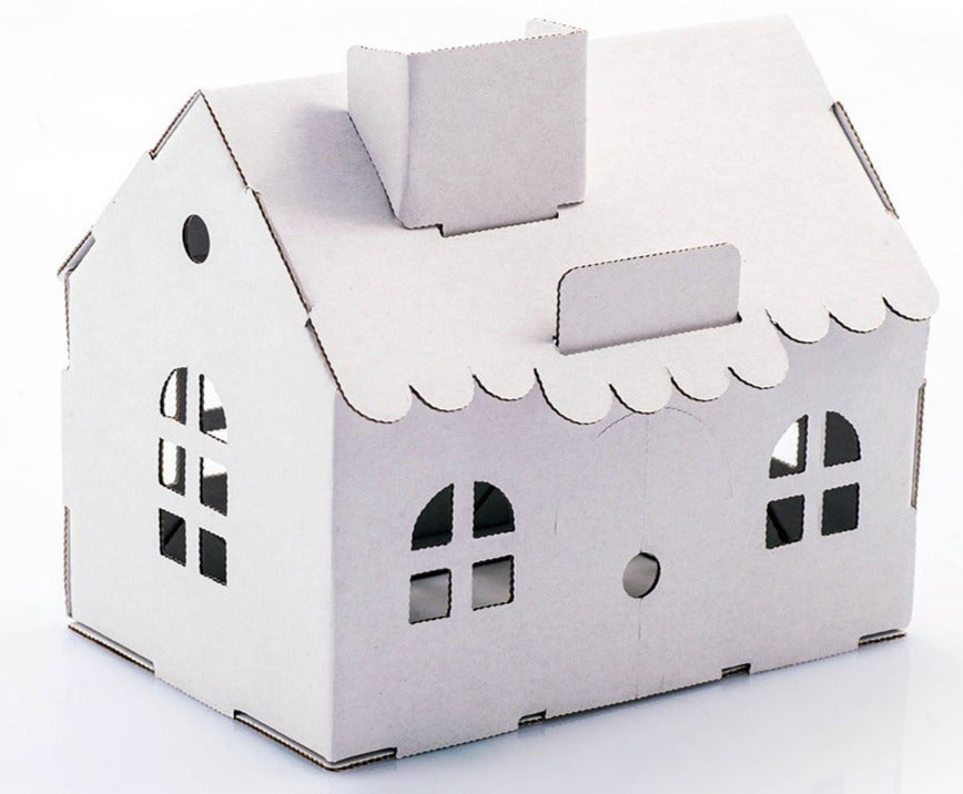 Leolandia House Money Box - White - STEAM Kids Brisbane