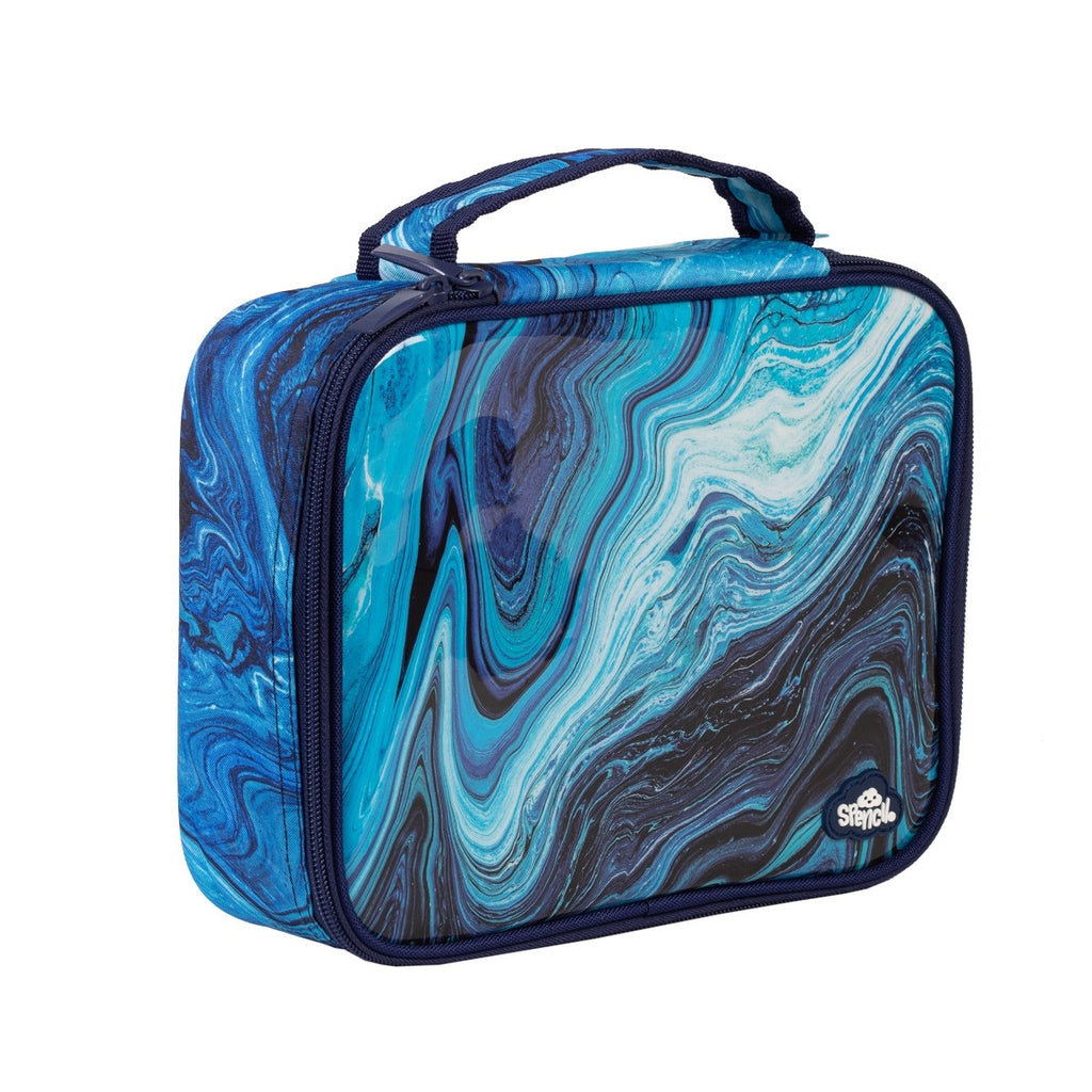Spencil Lunch Box - Ocean Marble - STEAM Kids Brisbane