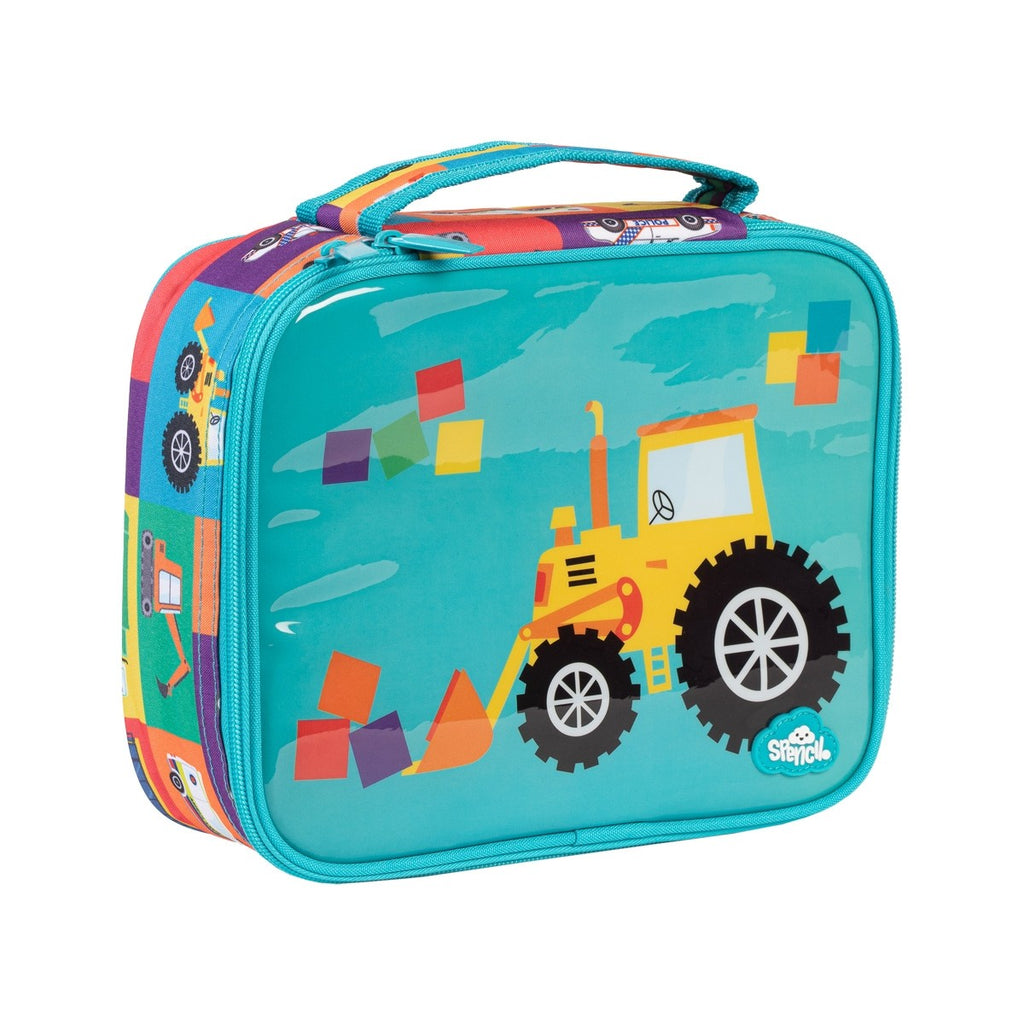 Spencil Lunch Box - Transport Town - STEAM Kids Brisbane