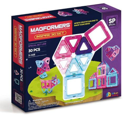 Magformers Inspire 30 Set - STEAM Kids Brisbane