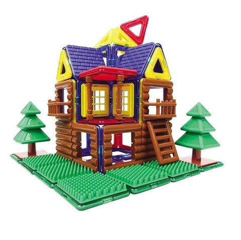 Magformers Log House - STEAM Kids Brisbane