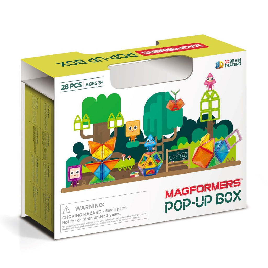 Magformers 28 Pce Pop Up Box - STEAM Kids Brisbane