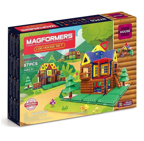Magformers Log House
