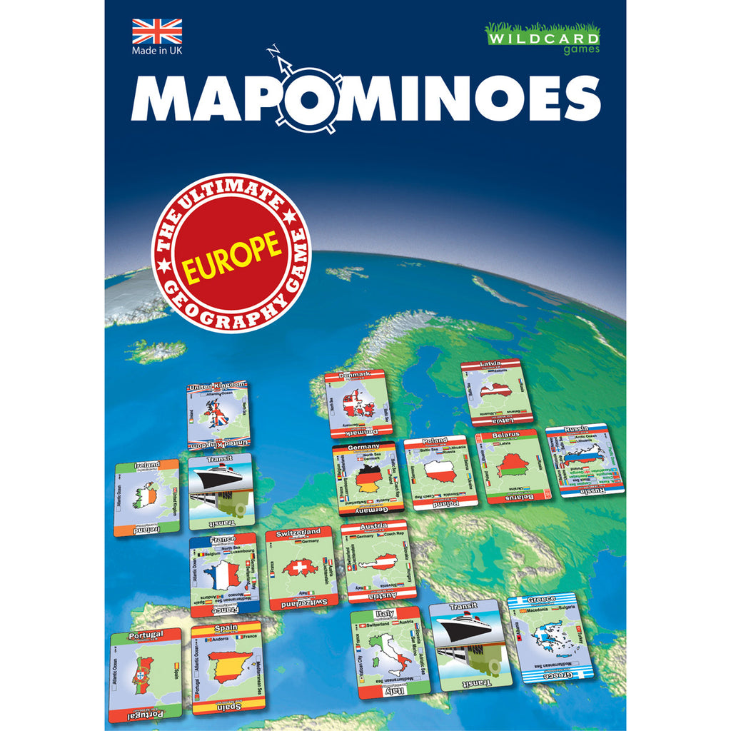 Mapominoes - Europe - STEAM Kids