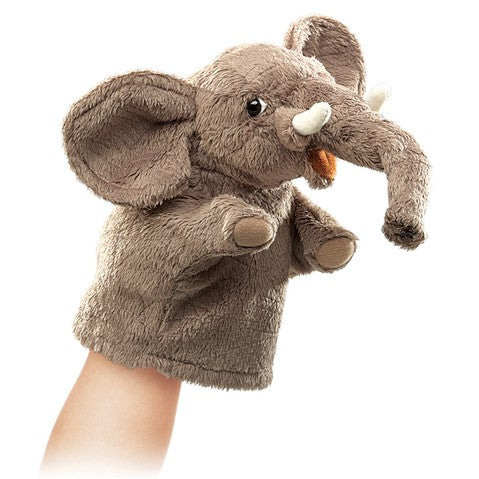 Folkmanis Little Elephant Puppet - STEAM Kids Brisbane