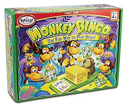 Monkey Bingo - STEAM Kids Brisbane