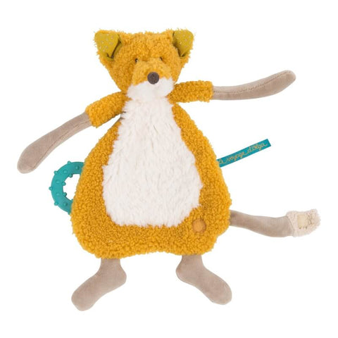 Moulin Roty Fox Comforter and Teether - STEAM Kids Brisbane