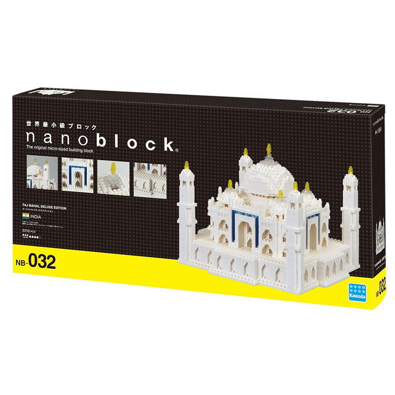 Nanoblock Taj Mahal Deluxe Edition NB032 - STEAM Kids Brisbane
