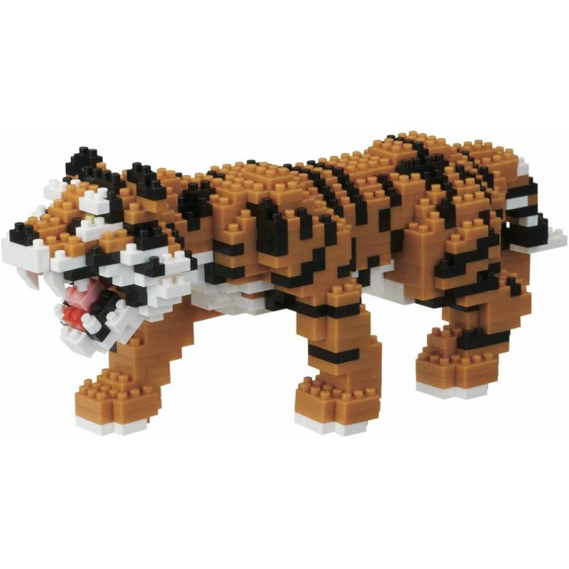 Bengal Tiger Deluxe Edition Nanoblock - STEAM Kids Brisbane