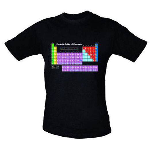 Geeks 'Periodic Table' Shirt, Small - STEAM Kids Brisbane