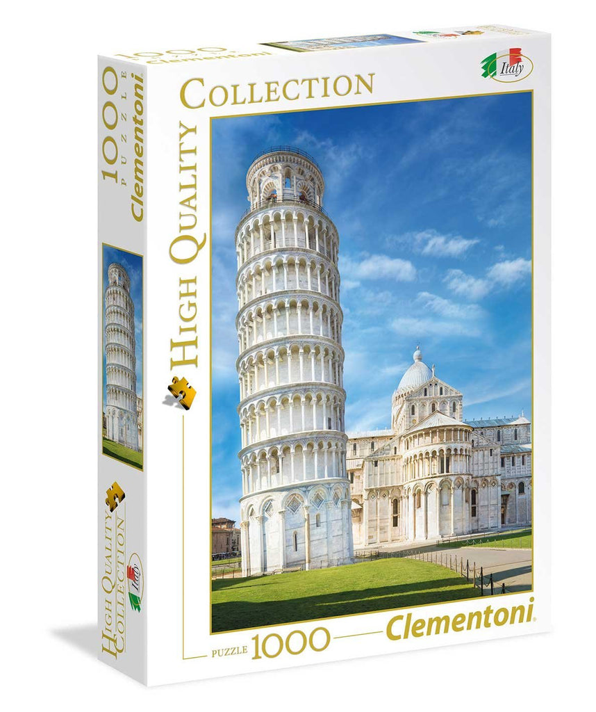 Clementoni Leaning Tower of Pisa 1000 Piece Puzzle - STEAM Kids