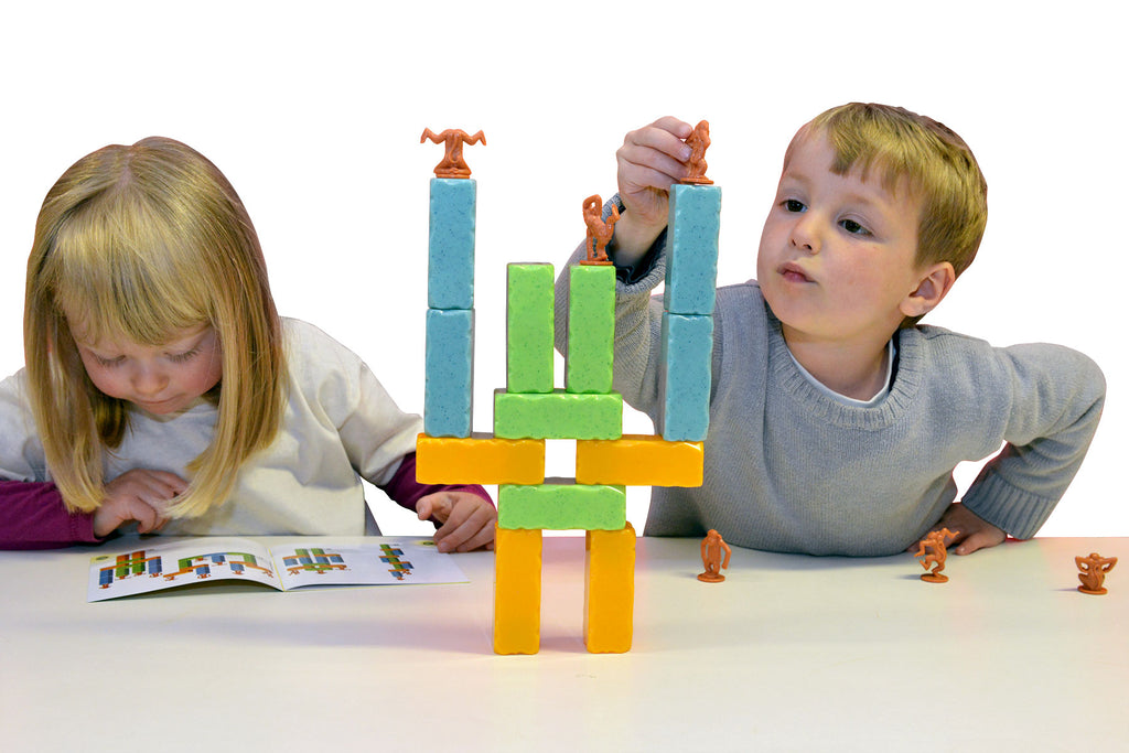 Monkey Blocks - Weighted Balance Game - STEAM Kids