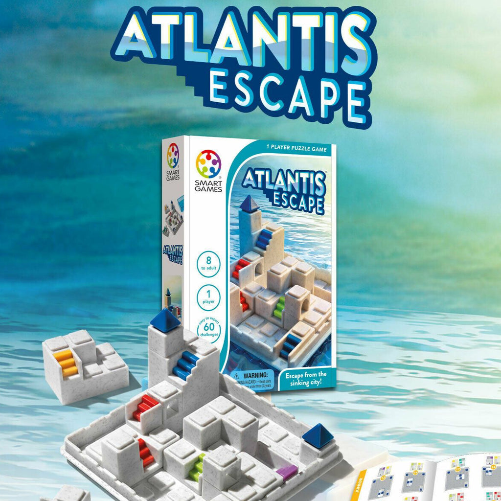 Smart Games Atlantis Escape - STEAM Kids Brisbane