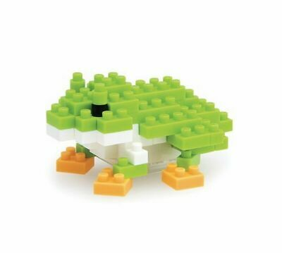 Japanese Tree Frog Nanoblock - STEAM Kids Brisbane