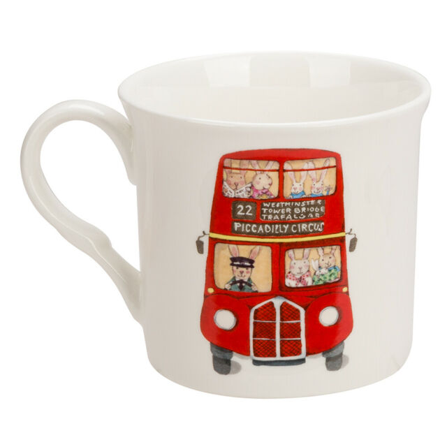 Ruby Red Shoes London Bus Mug - STEAM Kids
